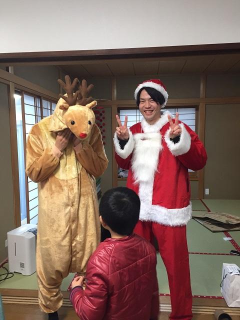 縁側のクリスマス会