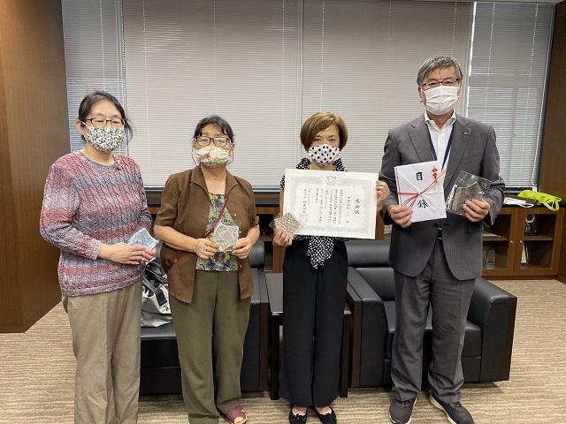 マスクを通した感謝